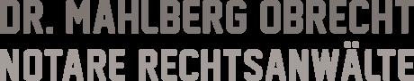 Logo Mahlberg Obrecht, Notare, Rechtsanwälte